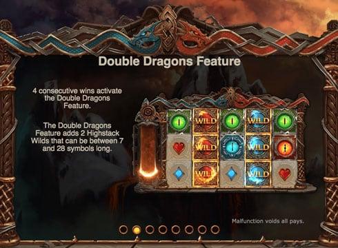 Особенности игры в автомате Double Dragons