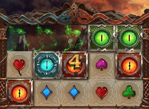 Призовая комбинация для выплат в игровом автомате Double Dragons