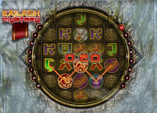 Призовая комбинация в игровом автомате Kailash Mystery
