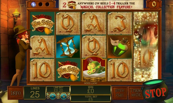 Призовая комбнинация в игровом автомате Miss Fortune
