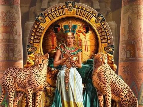 королева нила с деньгами фараона