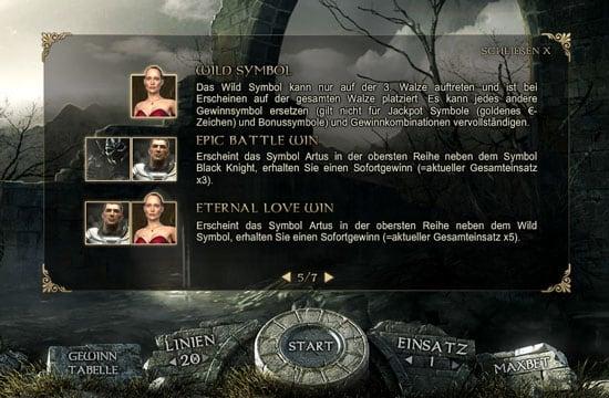 Особые комбинации в онлайн аппарате Forsaken Kingdom